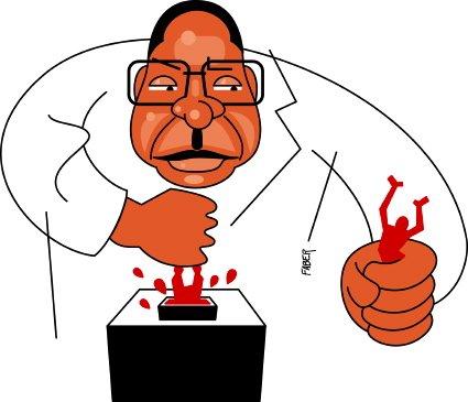 La démocratie est un mythe en Afrique (Par Aingar Ngarnadjal) mugabe.vote_